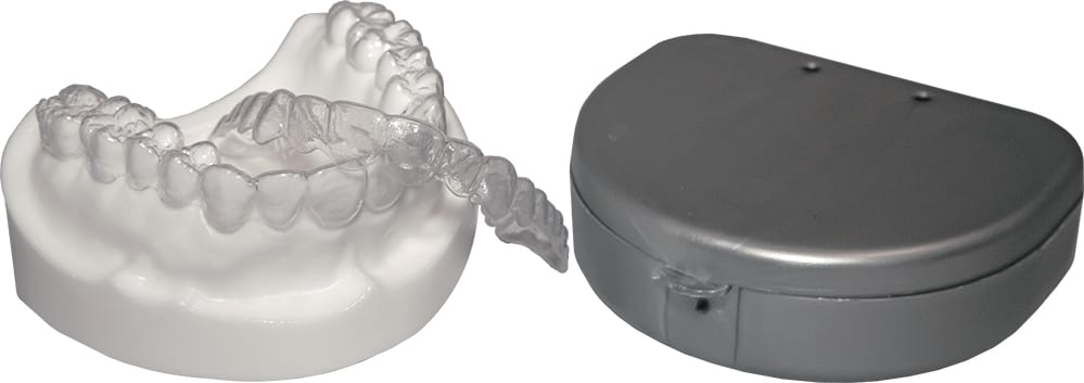 Two (1 Upper and 1 Lower OR 2 Upper OR 2 Lower) Orthodontic Dental  Retainer/ Custom Essix